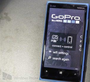 GoPro for Windows Phone 8 App