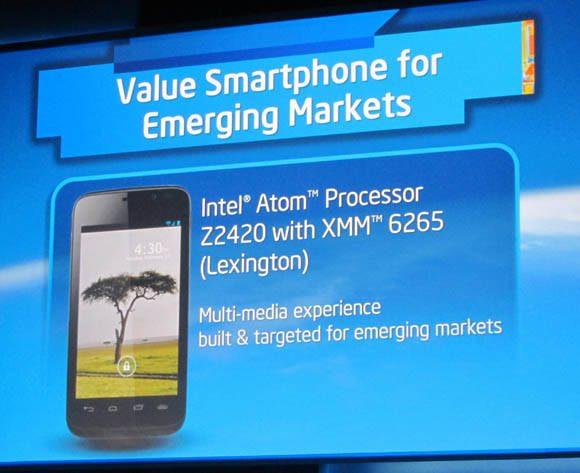 Intel сделает железо для Windows Phone