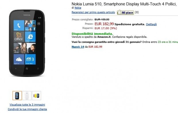 Nokia Lumia 510 Amazon