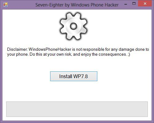 Windows Phone 7.8 Update Tool