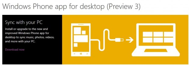 Windows Phone App for Desktop