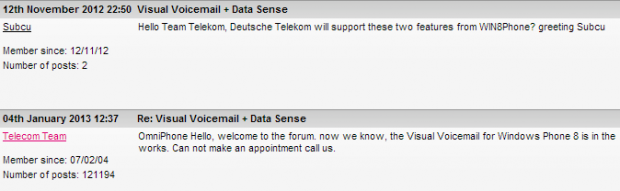 T-Mobile Germany working on offering Visual Voicemail for Windows Phone 8 1