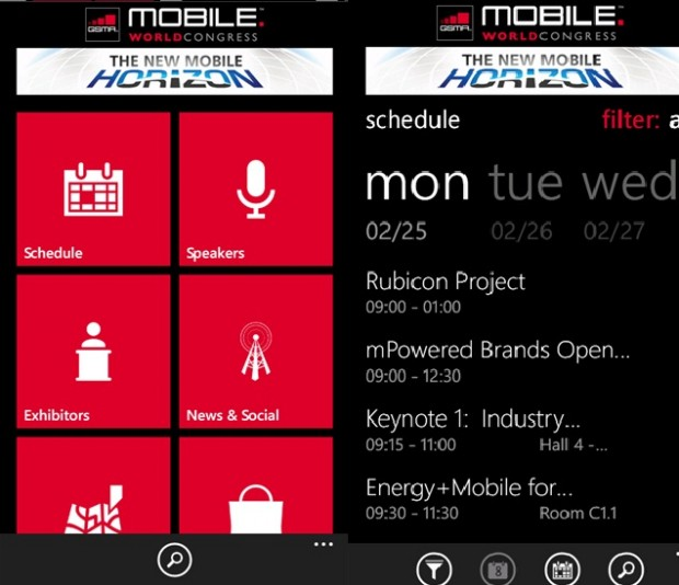 Mobile World Congress App