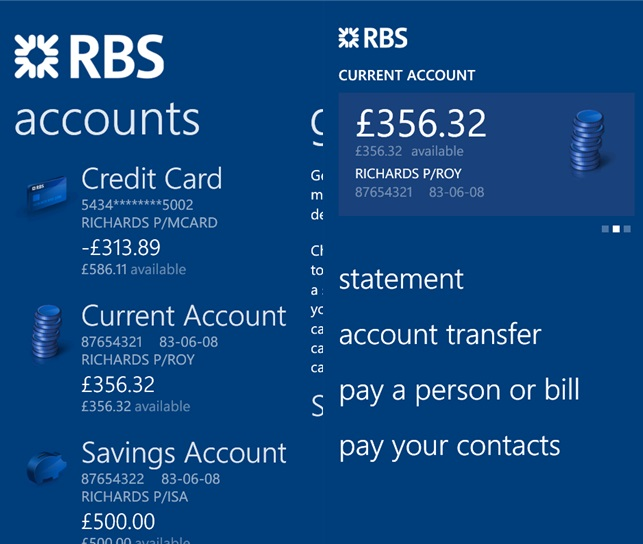 The Royal Bank Of Scotland Mobile Banking App Now