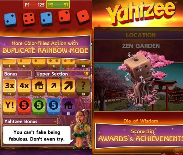 Yahtzee Windows Phone Game Xbox1