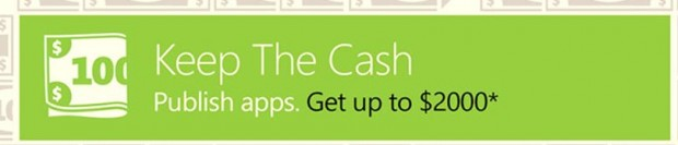 Microsoft Cash Incentive apps