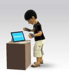 Xbox Windows 8 Tabler Avatar