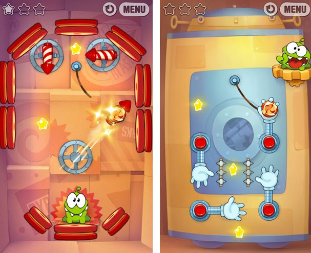Cut The Rope Experiments Windows Phone
