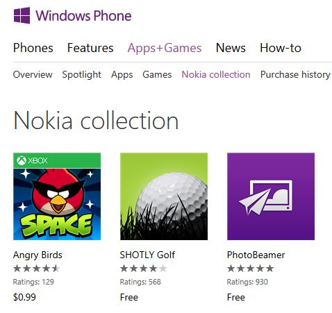 OEM Apps Collection WindowsPhone