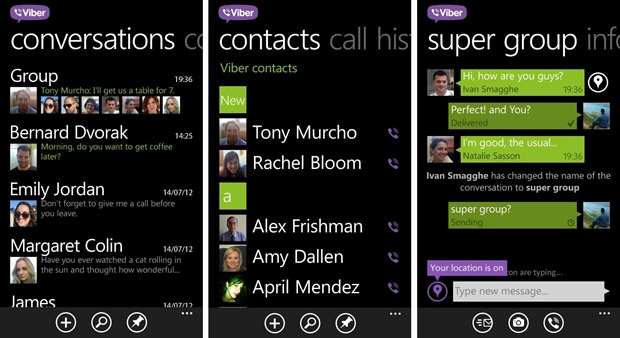 Viber VOIP Nokia Lumia exclusive