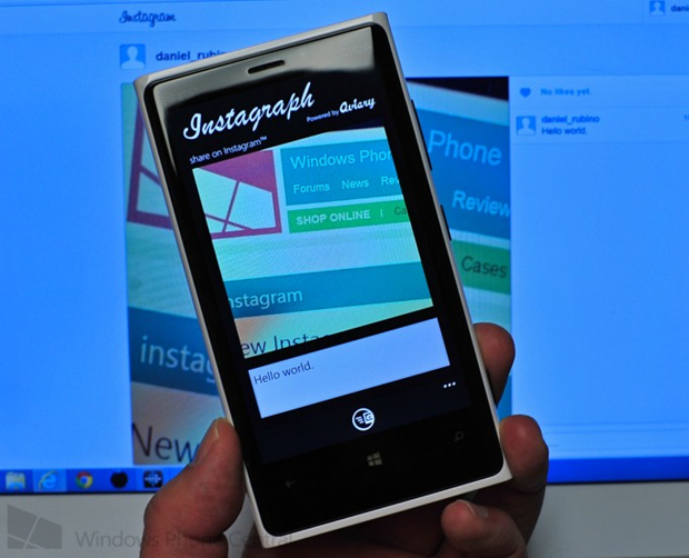 Instagraph app with Instagram upload capability teased