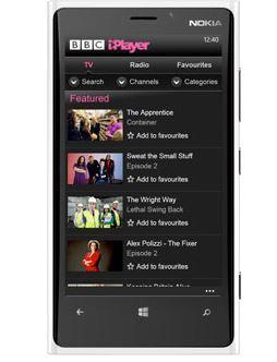 BBC iPlayer Windows Phone
