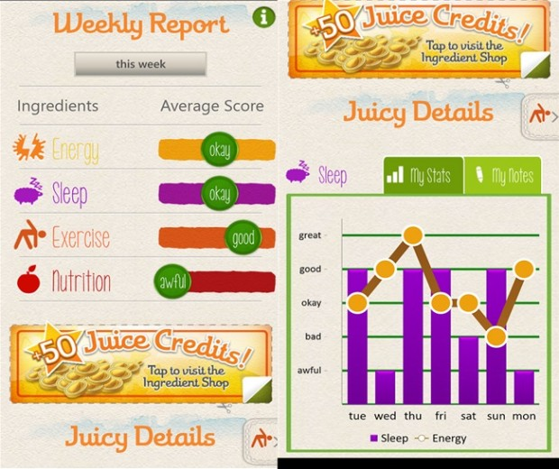 Juice Windows Phone app
