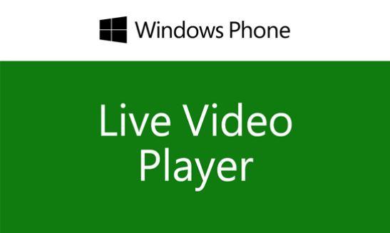 Microsoft Live Video Player Windows Phone