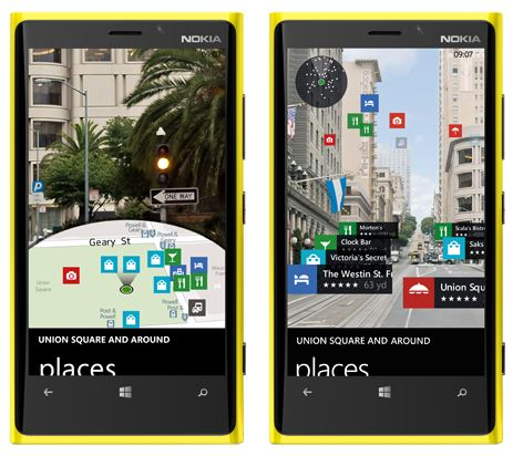 Nokia LiveSight Windows Phone
