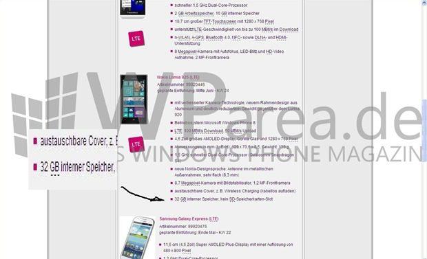 Nokia-Lumia-925-im-Telekom-Systen-mit-32-GB