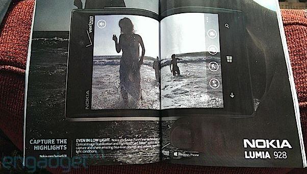 Nokia Lumia 928 Magazine Ad