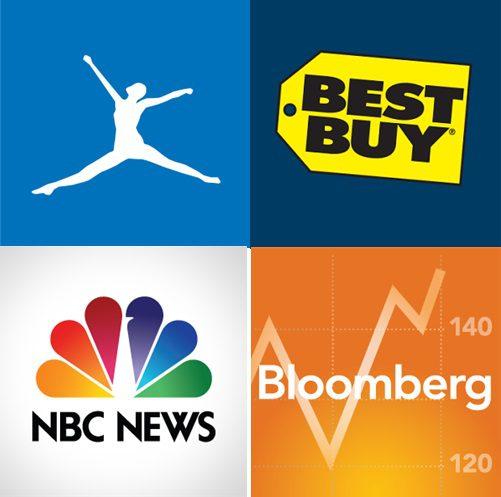 NBC Bloomberg Bestbuy Myfitnesspal