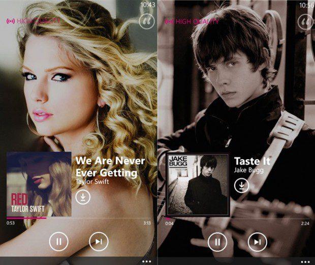 Nokia Music App