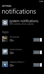 Notifications-settings