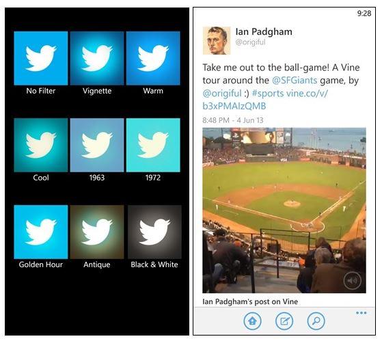 Twitter App for Windows Phone