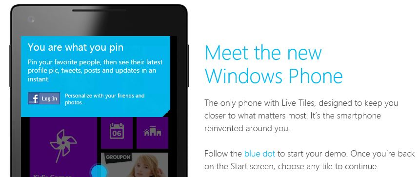 Try Windows Phone Demo Online To Get A