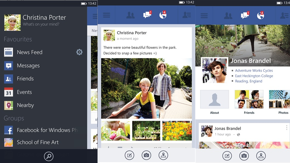 Facebook and Facebook Messenger app disappear from Windows Phone Store 2