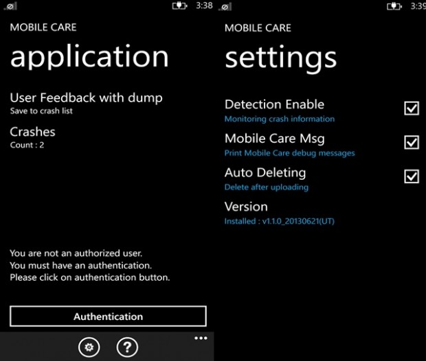 MobileCare Windows Phone Samsung