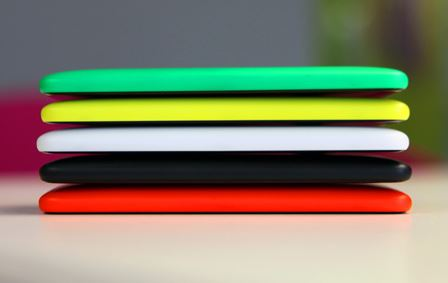 Nokia Lumia 625 colors stacked