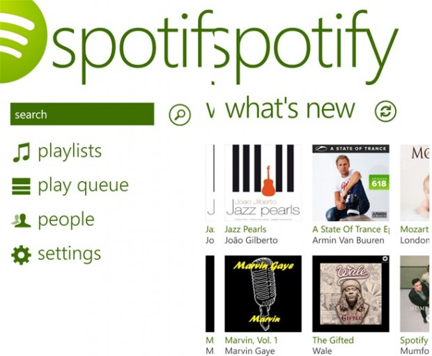 Spotify Windows Phone
