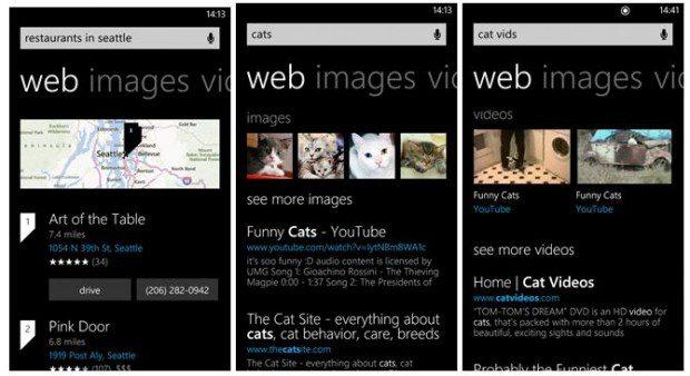 Bing Windows Phone app