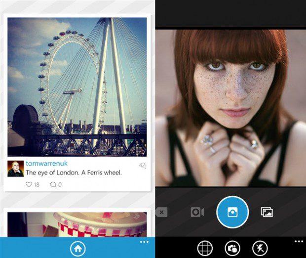 Instagram Windows Phone app 6tag