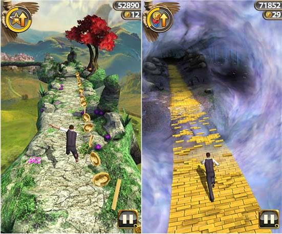 Temple Run OZ Windows Phone