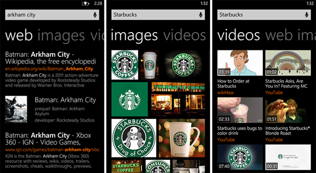 bing search results windows phone august 2 2013 screenshot 2