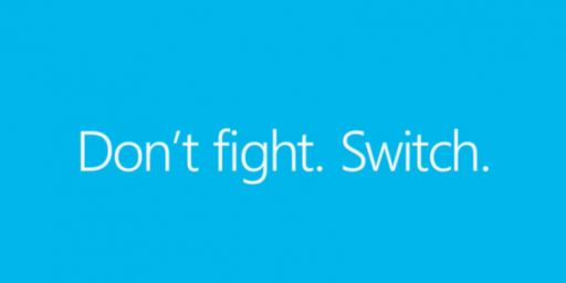 Don't fight Switch