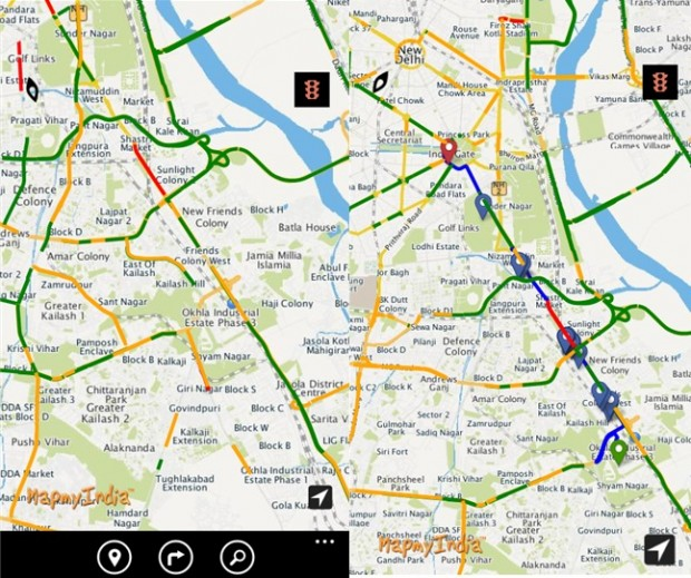 MapMyIndia Windows Phone
