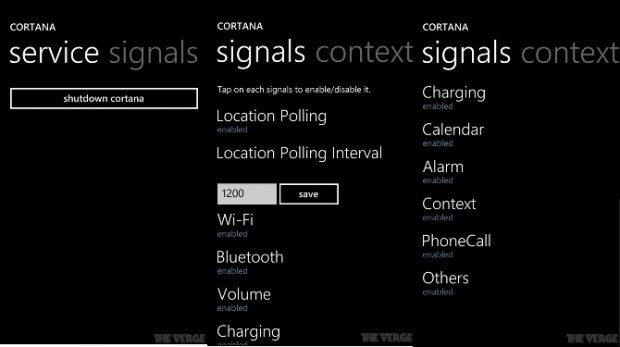 Microsoft Cortona 1