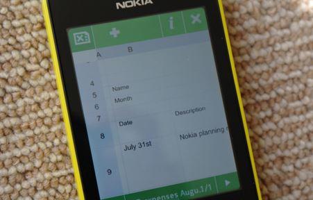 Nokia Asha Excel