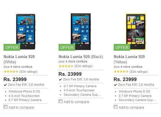 Nokia Lumia 920 India