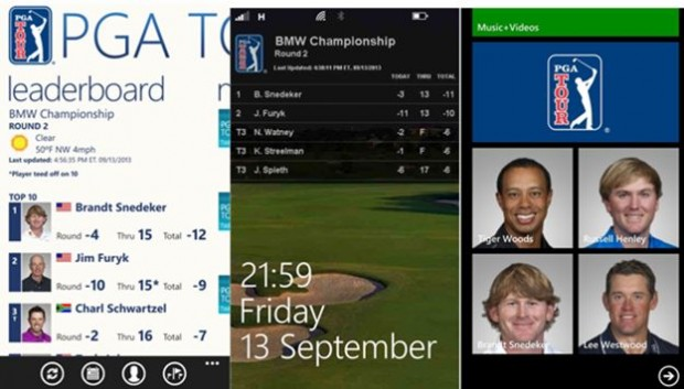 PGA Tour Windows Phone