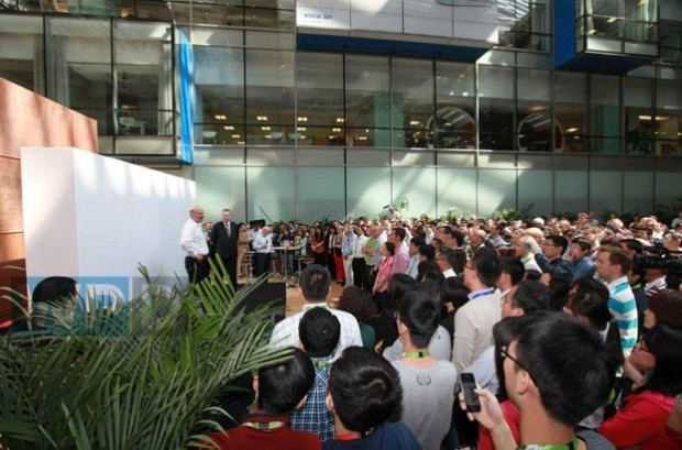 Ballmer Nokia China Visit