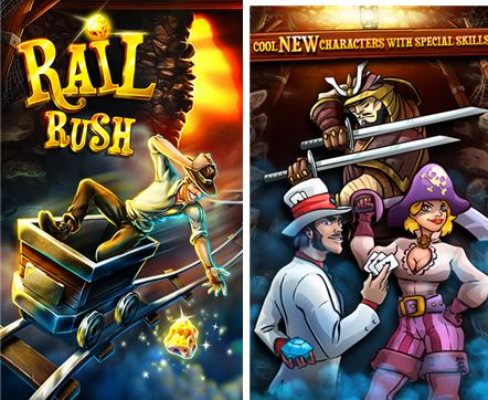Rail Rush Windows Phone