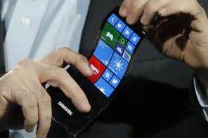 Samsung display flexible windows phone