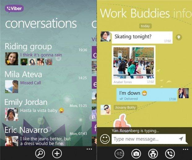 Viber Windows Phone 8