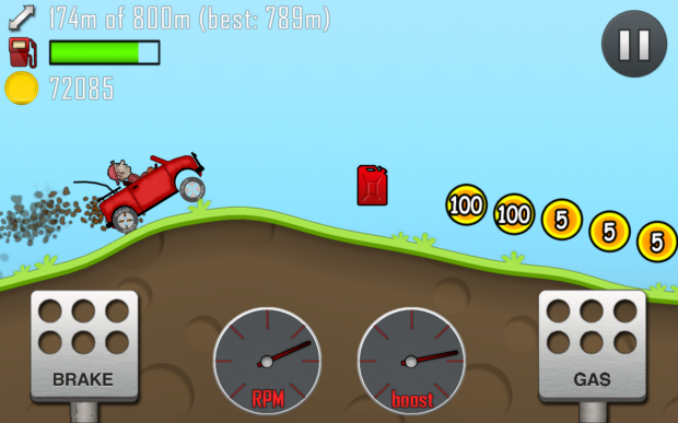 Fingersoft celebrates 100 million Hill Climb Racing downloads with