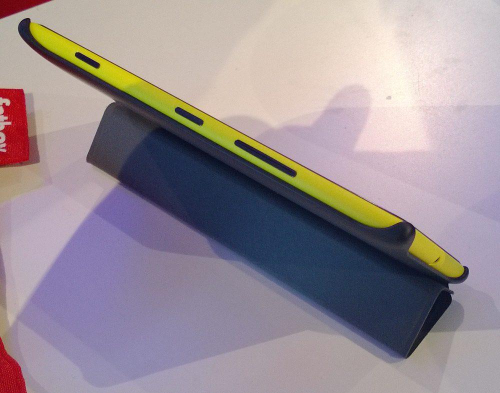 Синий полимерный чехол тип X для Нокиа Люмиа 152 - Nokia
