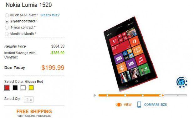AT&T Nokia Lumia 1520