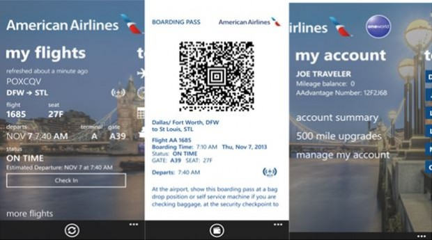 American Lines Windows Phone app