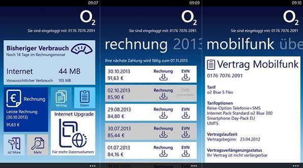 My O2 App Windows Phone