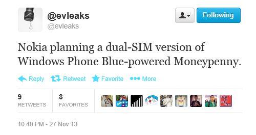 Nokia Dual Sim Lumia